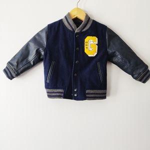 Gap Toddler Varsity Jacket 2T
